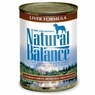 Natural Balance Dog - Can Food Canned Dog Liver And Rice, 12 Pack Of 13 Oz Case