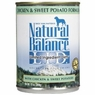 Natural Balance Dog - Can Food Canned Dog Sweet Potato And Chicken, 12 Pack Of 6 Oz Case