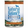 Natural Balance Dog - Can Food Canned Dog Sweet Potato And Fish, 12 Pack Of 13 Oz Case