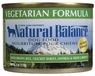 Natural Balance Dog - Can Food Canned Dog Vegetarian, 12 Pack Of 6 Oz Case