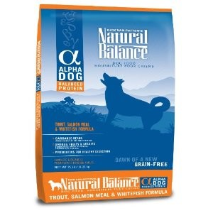 Natural Balance Alpha Grain Free Dry Dog Food