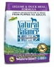 Natural Balance Dog - Dry Food Lid Legume And Duck Meal, 12.5 Lb Each