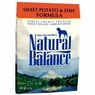 Natural Balance Dog - Dry Food Sweet Potato And Fish, 15 Lb Each