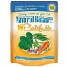 Natural Balance Pet Food Platefulls Canned Cat Food Turkey Chicken and Duck -- 3 oz