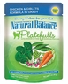 Natural Balance Platefulls Cat Pouches Chicken And Giblets In Gravy Cat Pouch, 24 Pack Of 3 Oz Case