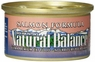 Natural Balance Canned Cat Food, Salmon Recipe, 24 x 3 Ounce Pack