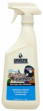 Natural Chemistry Ruffled Feathers Bird Cage Odor Elim Spray 24oz