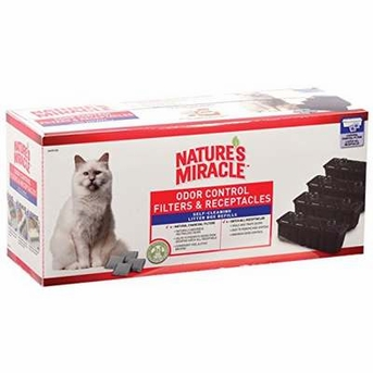 Nature's Miracle Odor Control Filters and Waste Receptacles Combo Pack