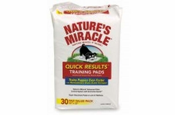 Natures Miracle Quick Results Training Pads 30ct