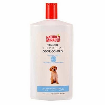 Nature's Miracle Supreme Odor Control Natrual Puppy Shampoo/Conditioner 36oz