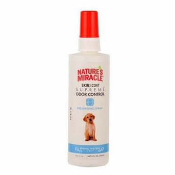 Nature's Miracle Supreme Odor Control Spring Waters Freshening Spray 8oz