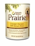 Nature'S Variety Prairie Canine - Can Food Chicken With Brown Rice, 12 Pack Of 13.2 Oz Case