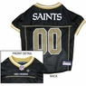New Orleans Saints NFL Dog Jersey - Large