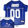 New York Giants NFL Dog Jersey - Large