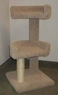 North American Pet Double half pedestal