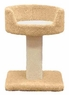 North American Pet Products Cat Pedestal with Bed, 23-Inch
