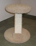 North American Pet Slanted Round top & base scratcher
