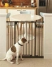 North States Supergate Easy Close Tall Metal Child/Pet Gate - Bronze, 28 Inch To 38.5 Inch x 36 Inch High