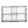 North States Top-Notch Plastic Pet Gate - White, 28 Inch To 41 Inch Wide x 23 Inch High