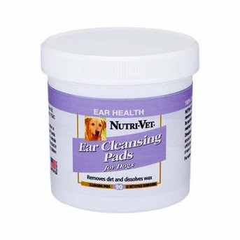Nutri-Vet Ear Cleansing Pads for Dogs 90ct