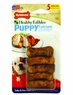 Nylabone 5 Count Healthy Edibles Puppy Turkey and Sweet Potato Flavor Junior Bones for Small Dogs, Mini
