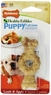 Nylabone Edible Long Lasting Formula Puppy Lamb and Apple Ring Bone for Petite Puppies Up to 15-Pound
