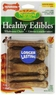 Nylabone Healthy Edible Bacon Bone for Pets, Petite, 8 Count Blister Pack, 6.2 oz