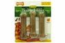 Nylabone Healthy Edibles Bacon Bone w/ Vitamins Regular 3pk