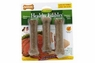 Nylabone Healthy Edibles Roast Beef Flavored Bone w/ Vitamins Reguar 3pk