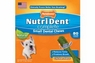 Nylabone Nutri Dent Adult Chicken Small Pantry Pack 50ct