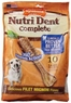 Nylabone Nutri Dent Filet Mignon 10 Count Dental Chews for Adult Dogs, Large