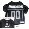 Oakland Raiders NFL Dog Jersey - Large