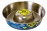 Our Pet Durapet Premium Stainless Steel Slow Feed Bowl Large