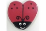 Pawsitively Gourmet Ladybug Heart cookie, Chicken Liver 20ct