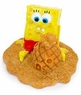 Penn Plax SpongeBob & Pineapple Sand Castle Aquarium Ornament