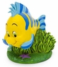 "Penn Plax The Little Mermaid Flounder Aquarium Ornament, 2.6"" L X 2.75"" W X 3.25"" H"