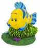 "Penn Plax The Little Mermaid Flounder Mini Aquarium Ornament, 1.5"" L X 3"" W X 3.75"" H"