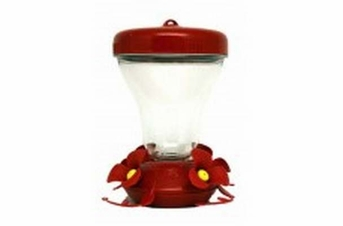 Perky-Pet Magnolia Top Fill Hummingbird Feeder 16oz