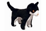 VIP Mighty Dog Toy Farm Cat Black White