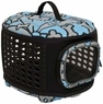 Petmate 21786 Curvations Cat and Dog Retreat Kennel and Carrier, Blue/Gray
