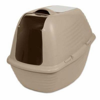 PETMATE 290056 Stay Fresh Large Hooded Pan Asst Colors for Pets