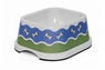 Petmate  Bone Parade Bowl White with Blue Pattern 2cup