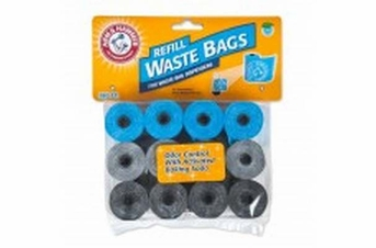 Petmate Arm & Hammer Disposable Waste Bag Refills Assorted Colors 180ct