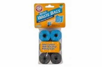 Petmate Arm & Hammer Disposable Waste Bag Refills Assorted Colors 90ct
