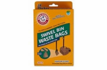 Petmate Arm & Hammer Swivel Bin Waste Bags Penny 20ct