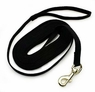 Petmate Cotton Training Lead Black 5/8in X 15ft