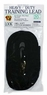 Petmate Cotton Training Lead Black 5/8in X 20ft