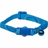 Petmate Eco Breakaway Adjustable Cat Collar Circles Blue 3/8 X 8-12in