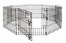 Petmate Exercise Pen With Door 24x24 8-panels 1pk