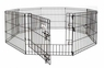 Petmate Exercise Pen With Door 36x24 8-panels 1pk
